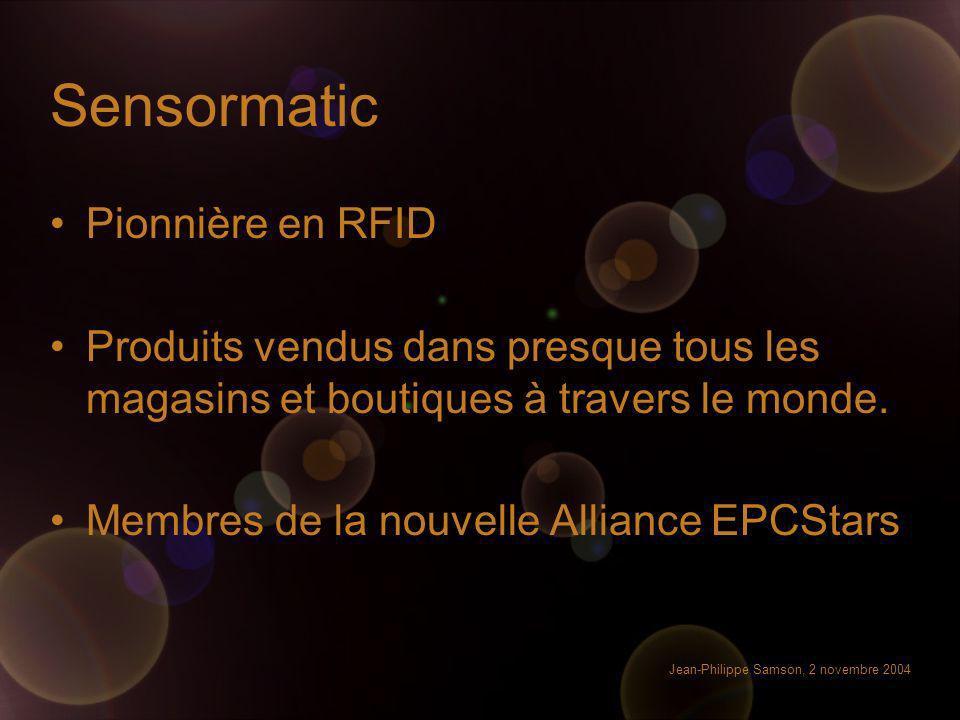 Sensormatic Pionnière en RFID
