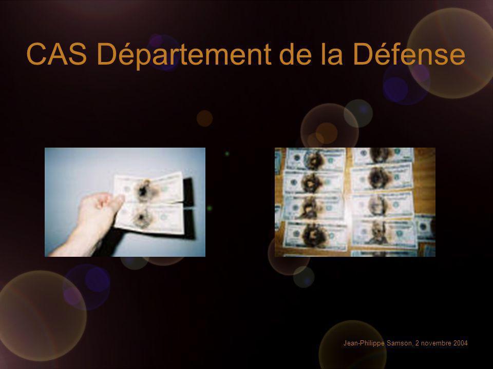 CAS Département de la Défense