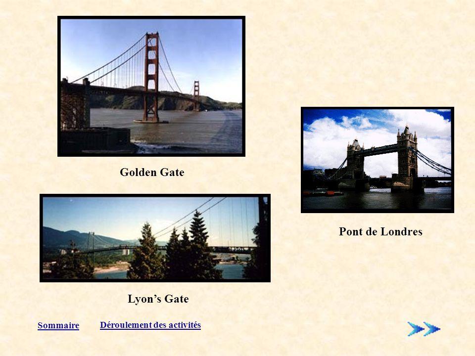 Golden Gate Pont de Londres Lyon's Gate Sommaire