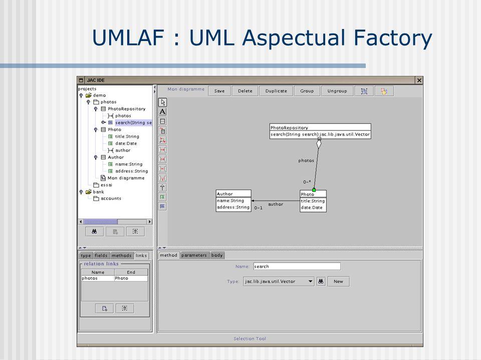 UMLAF : UML Aspectual Factory