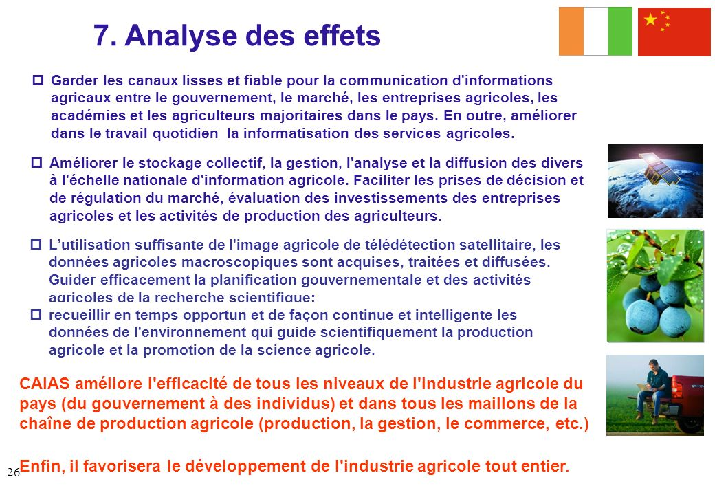7. Analyse des effets