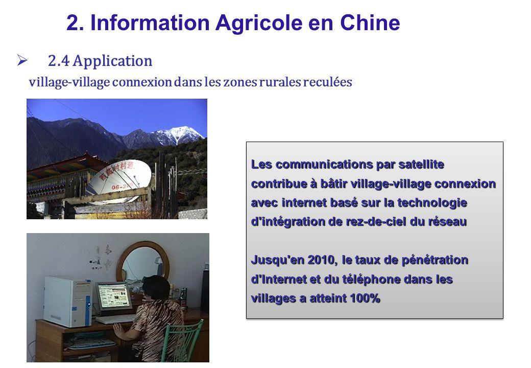 village-village connexion dans les zones rurales reculées