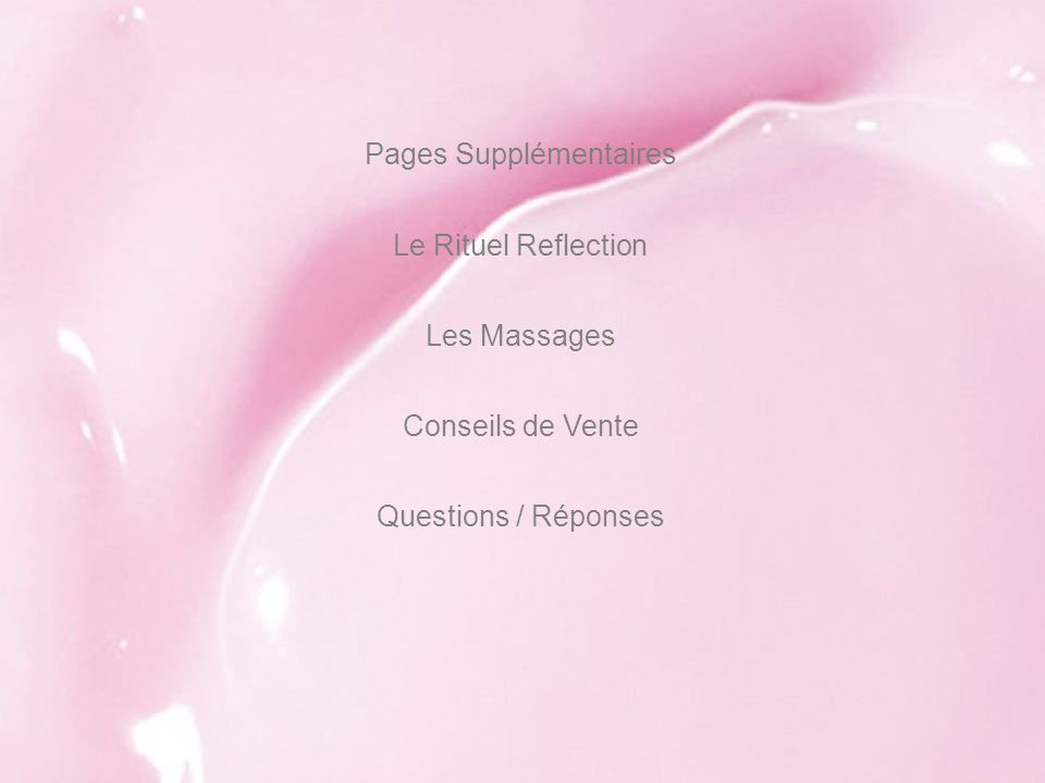 Pages Supplémentaires