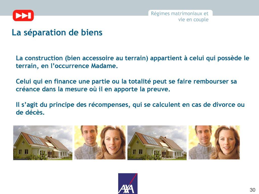 Parcours gestpat 2010 module 1 constitution d un for A qui revient la maison en cas de deces