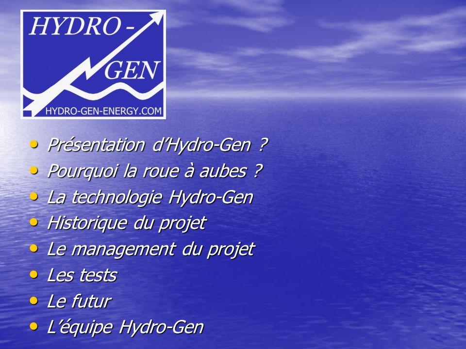 Présentation d'Hydro-Gen