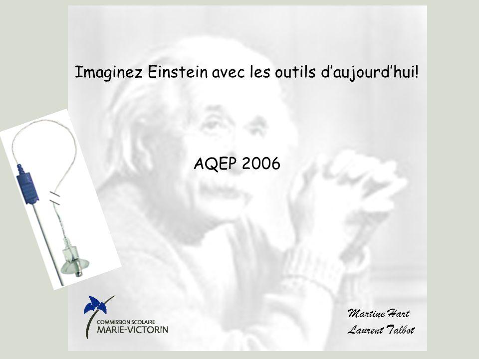 Imaginez Einstein avec les outils d'aujourd'hui!