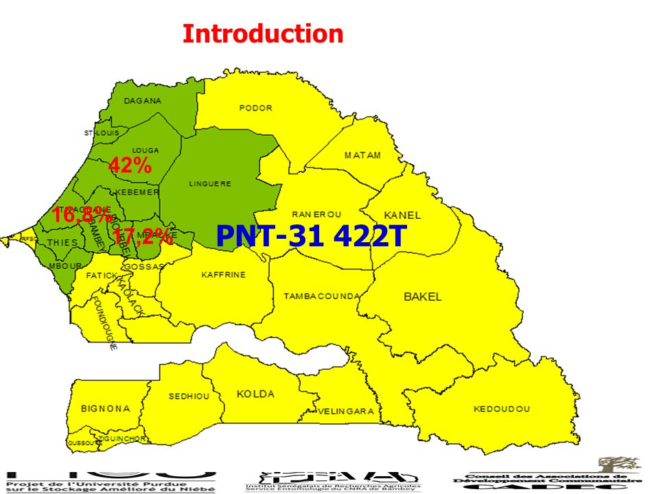 Introduction 16,8% 42% 17,2% PNT-31 422T