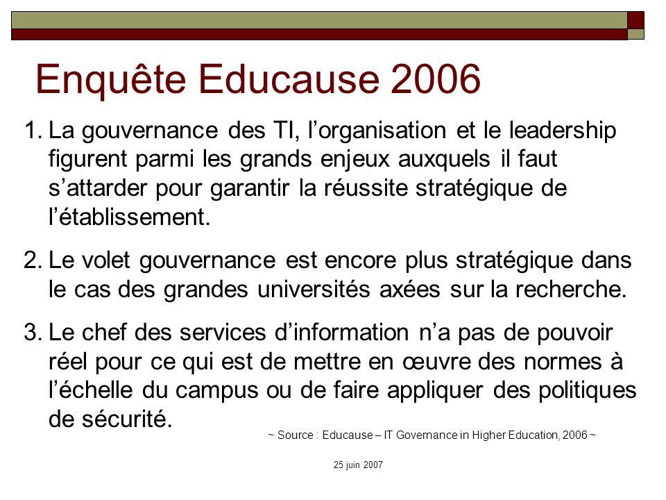 Enquête Educause 2006