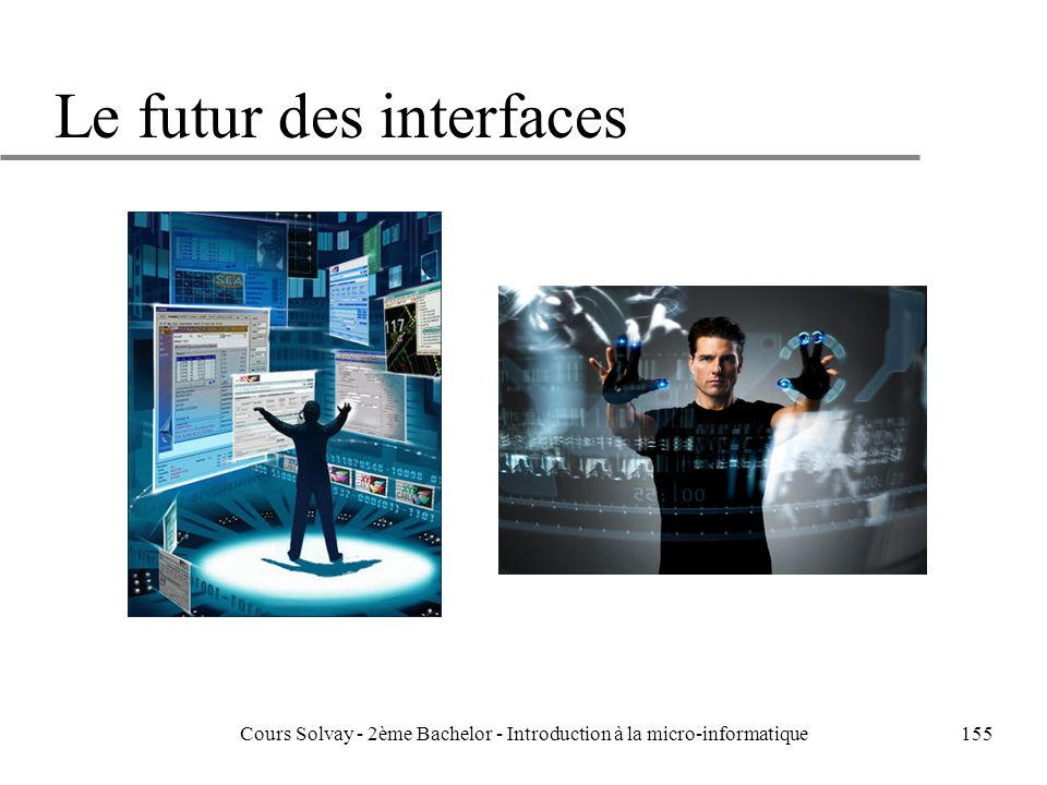 Le futur des interfaces