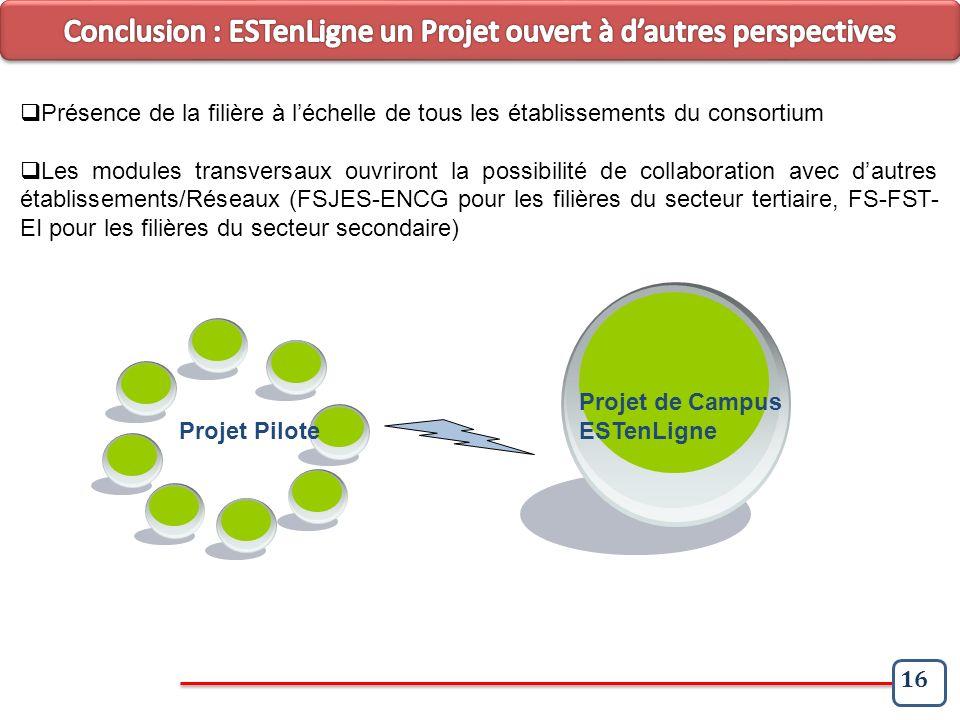 Conclusion : ESTenLigne un Projet ouvert à d'autres perspectives