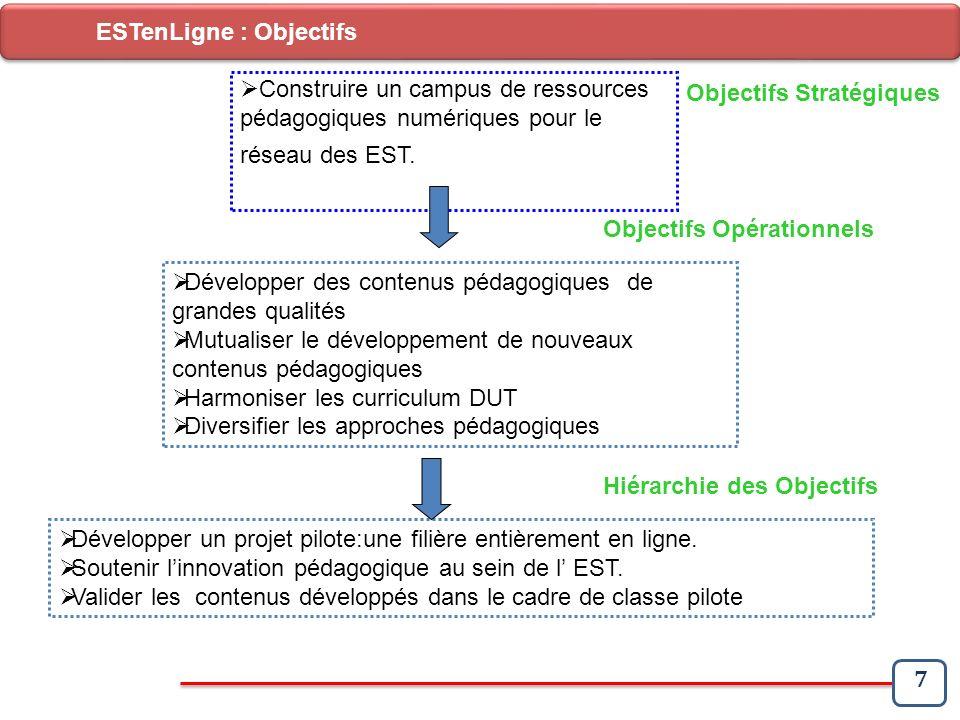 ESTenLigne : Objectifs