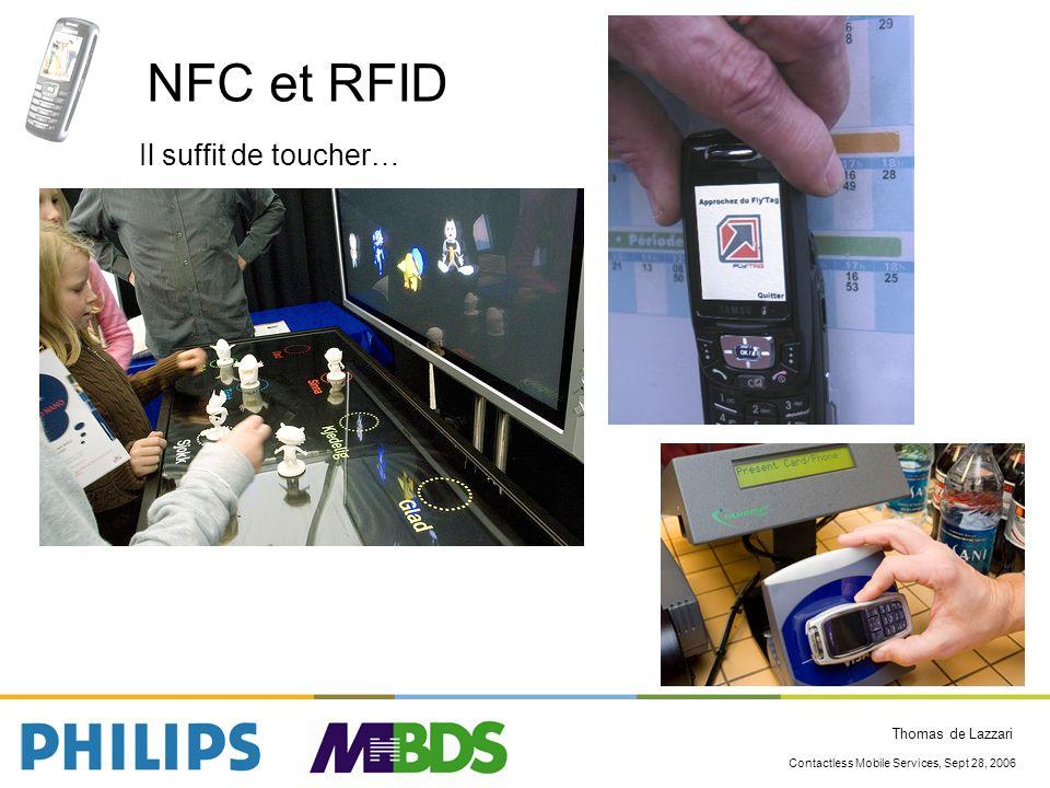 NFC et RFID Il suffit de toucher…