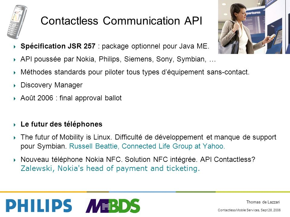 Contactless Communication API
