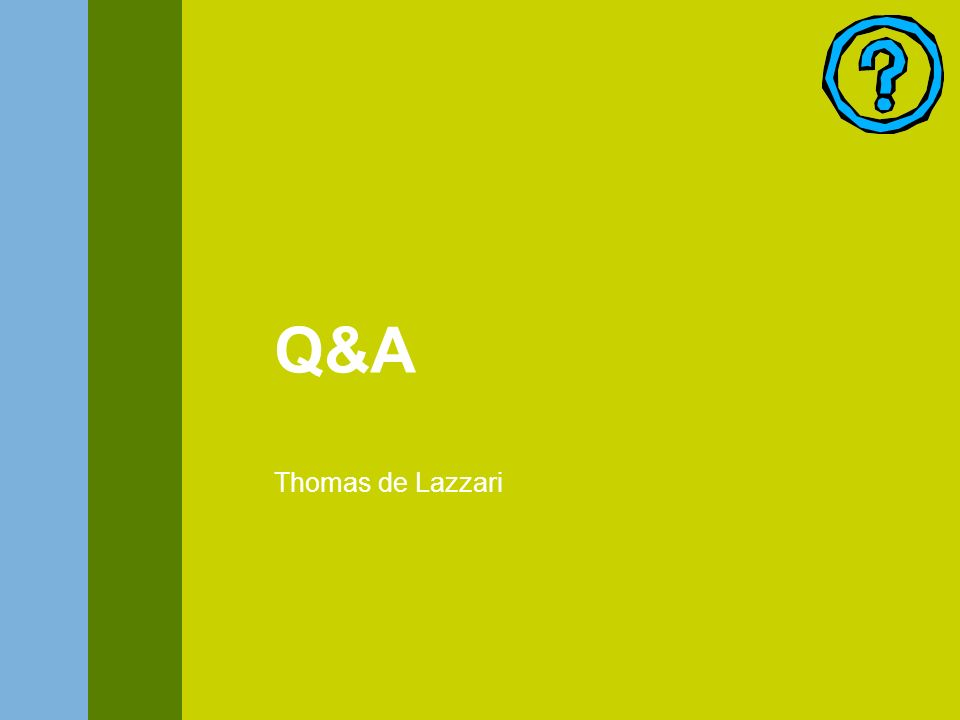 Q&A Thomas de Lazzari