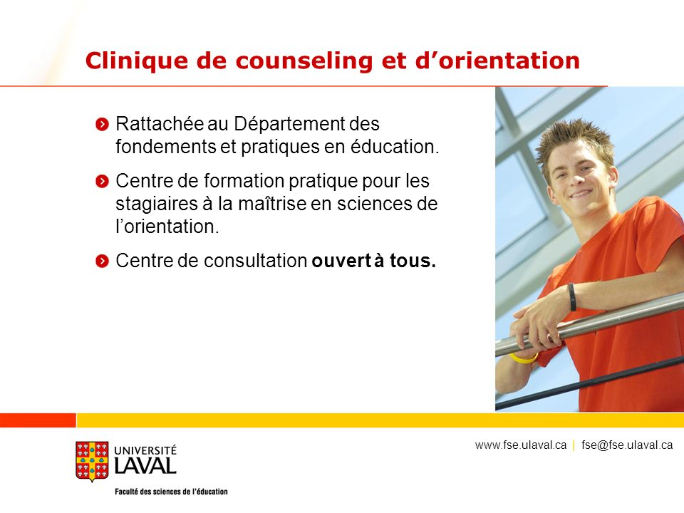 Clinique de counseling et d'orientation