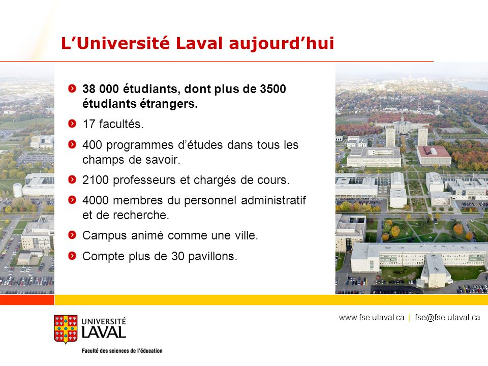 La facult des sciences de l ducation universit laval for Piscine universite laval