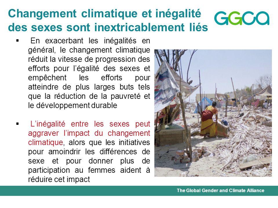 Changement climatique et inégalité
