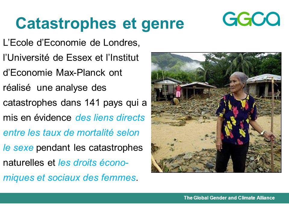 Catastrophes et genre