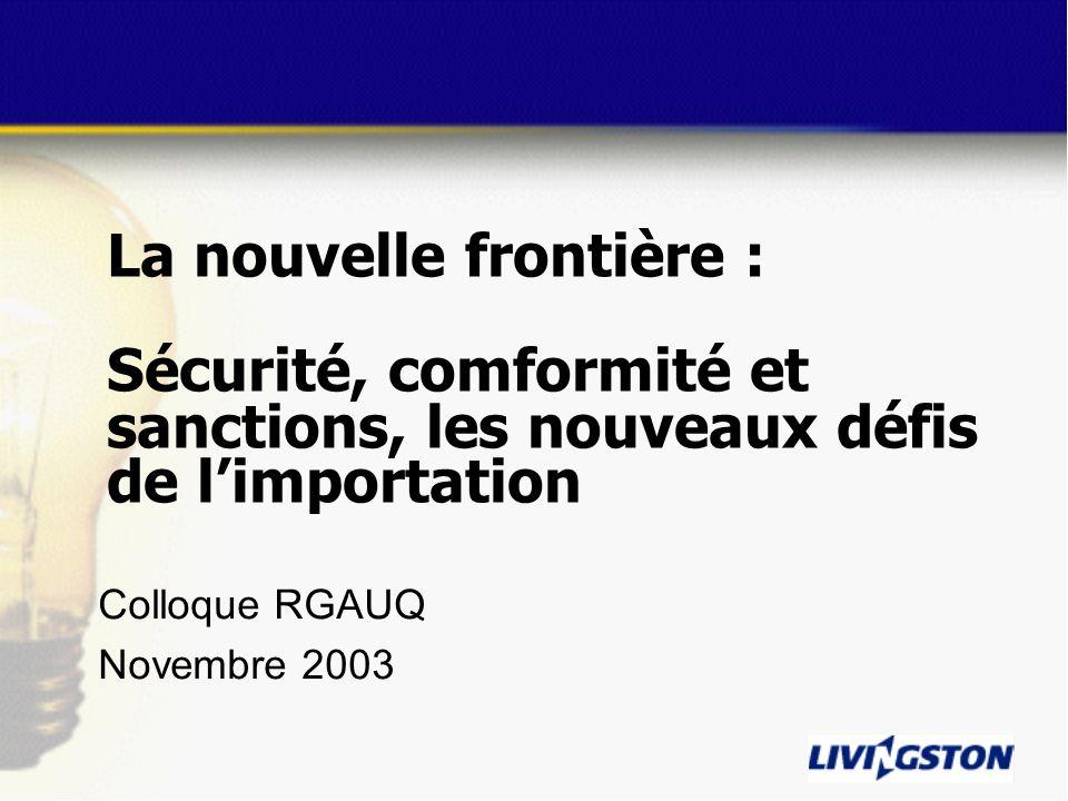 Colloque RGAUQ Novembre 2003
