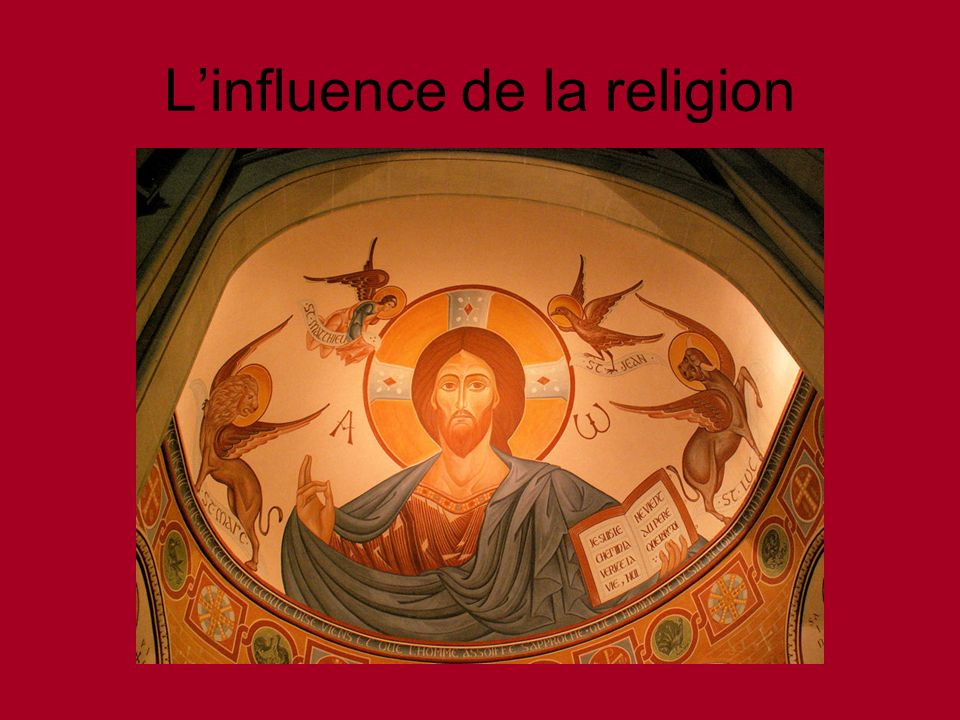 L'influence de la religion