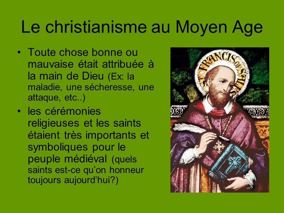 Le christianisme au Moyen Age