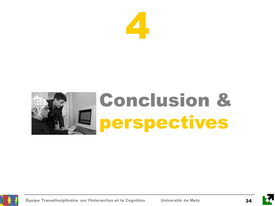 4 Conclusion & perspectives