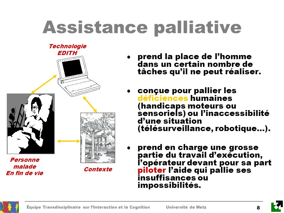 Assistance palliative