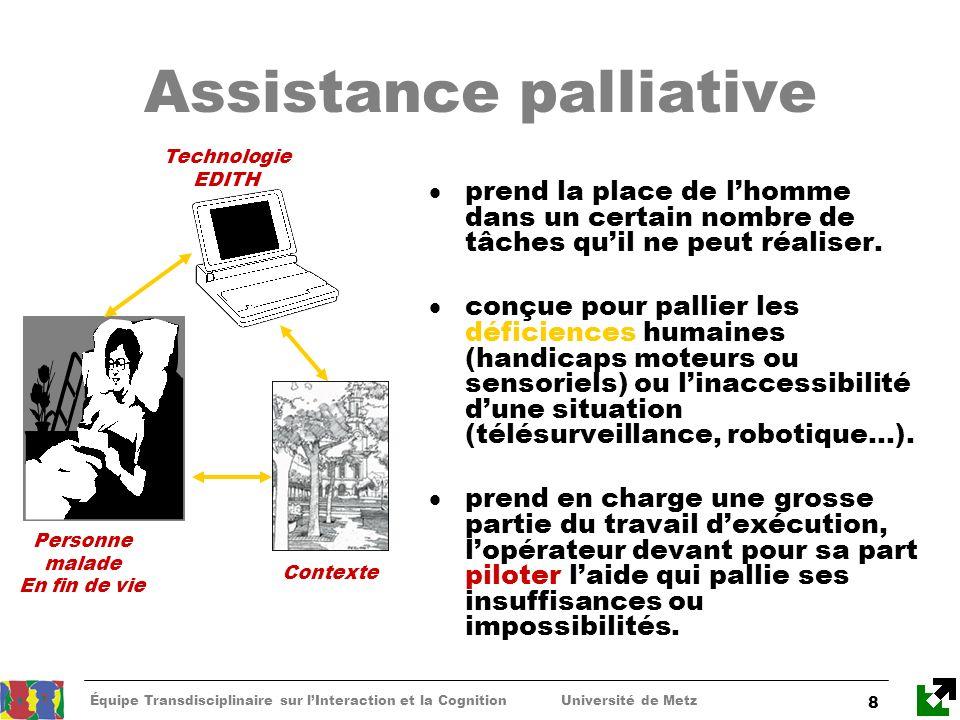 Assistance palliative
