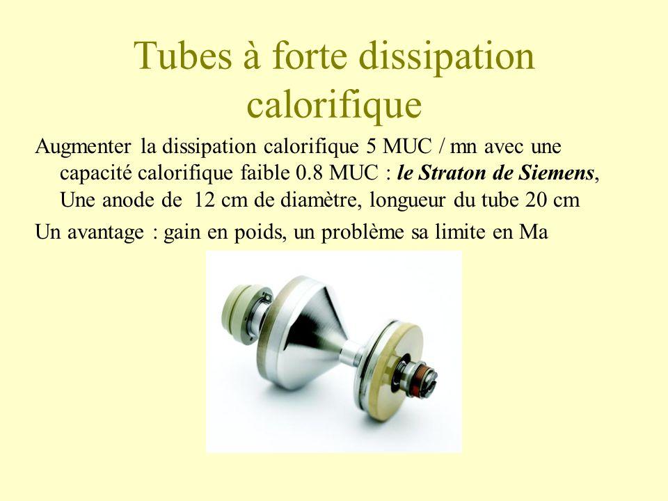 Tubes à forte dissipation calorifique