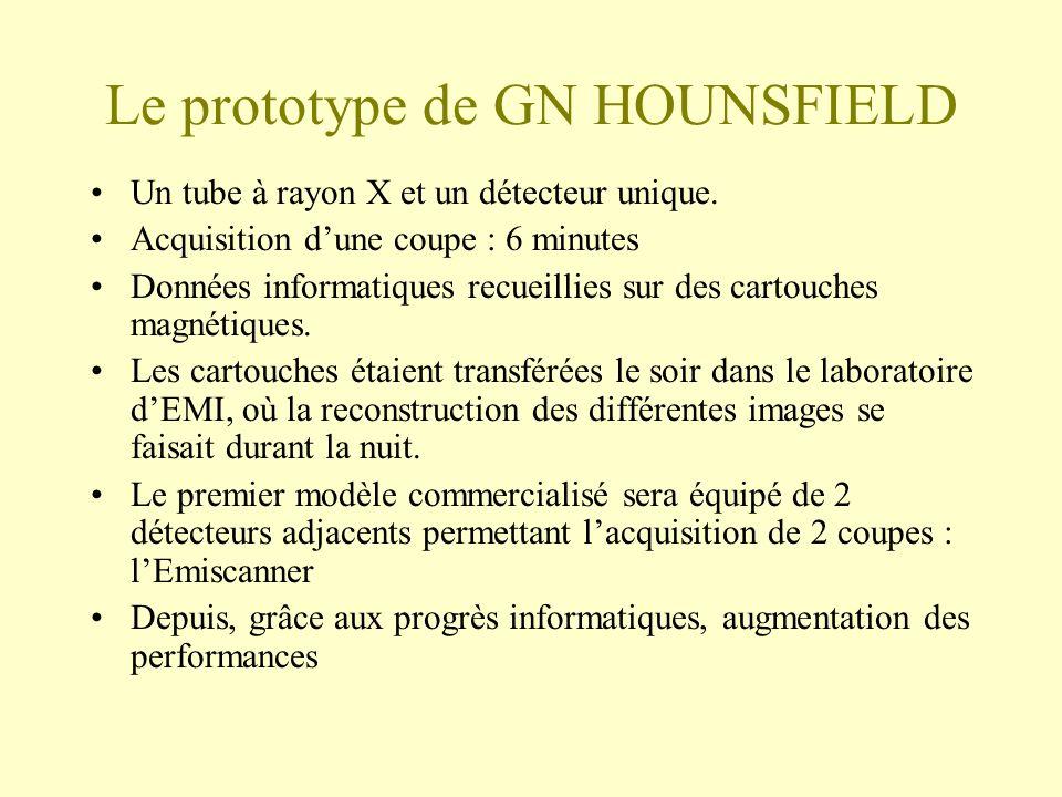 Le prototype de GN HOUNSFIELD
