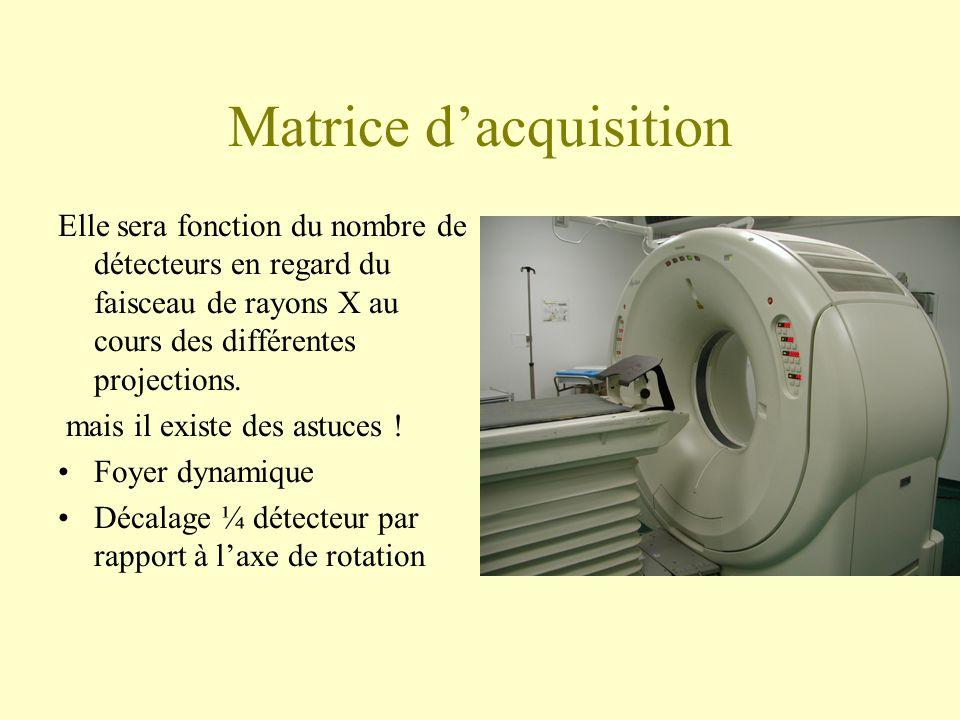 Matrice d'acquisition