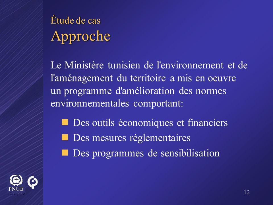 Des outils économiques et financiers Des mesures réglementaires