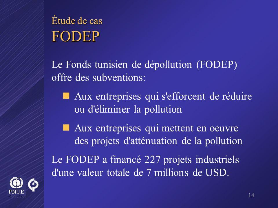 Le Fonds tunisien de dépollution (FODEP) offre des subventions: