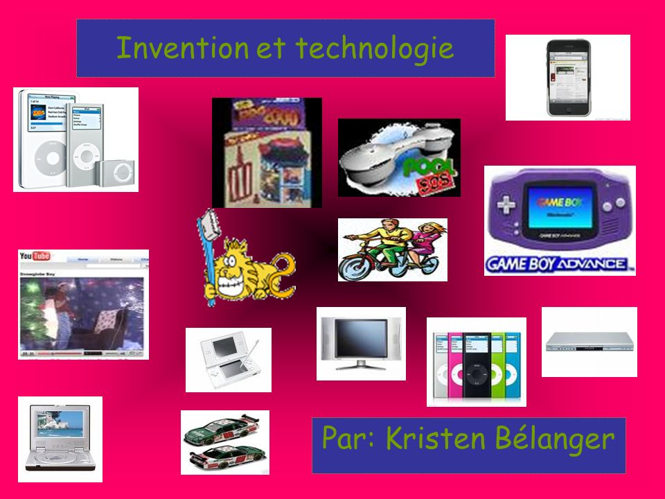 Invention et technologie