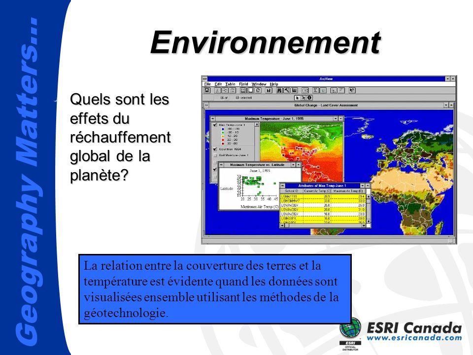 Environnement Quels sont les effets du réchauffement global de la planète