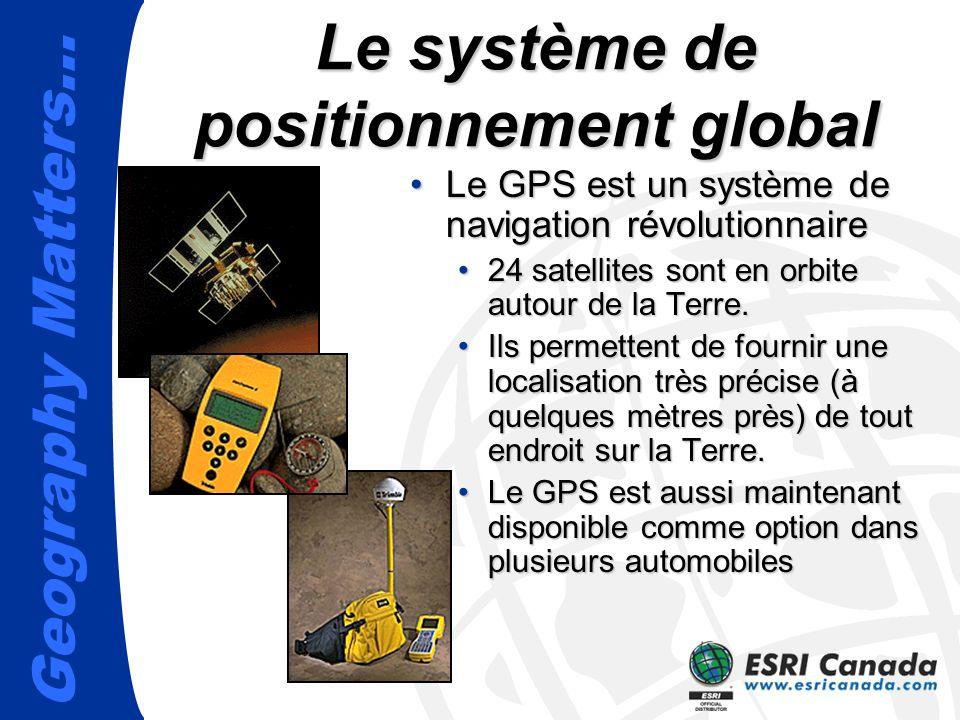 Le système de positionnement global