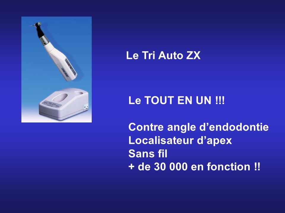 Le Tri Auto ZX Le TOUT EN UN !!. Contre angle d'endodontie.