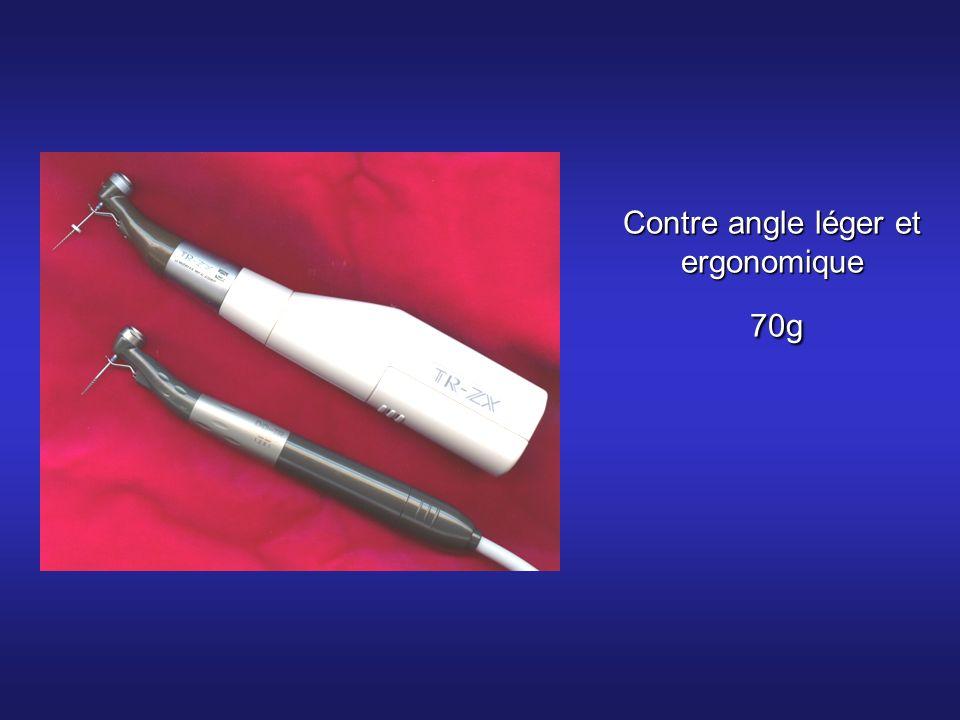 Contre angle léger et ergonomique 70g