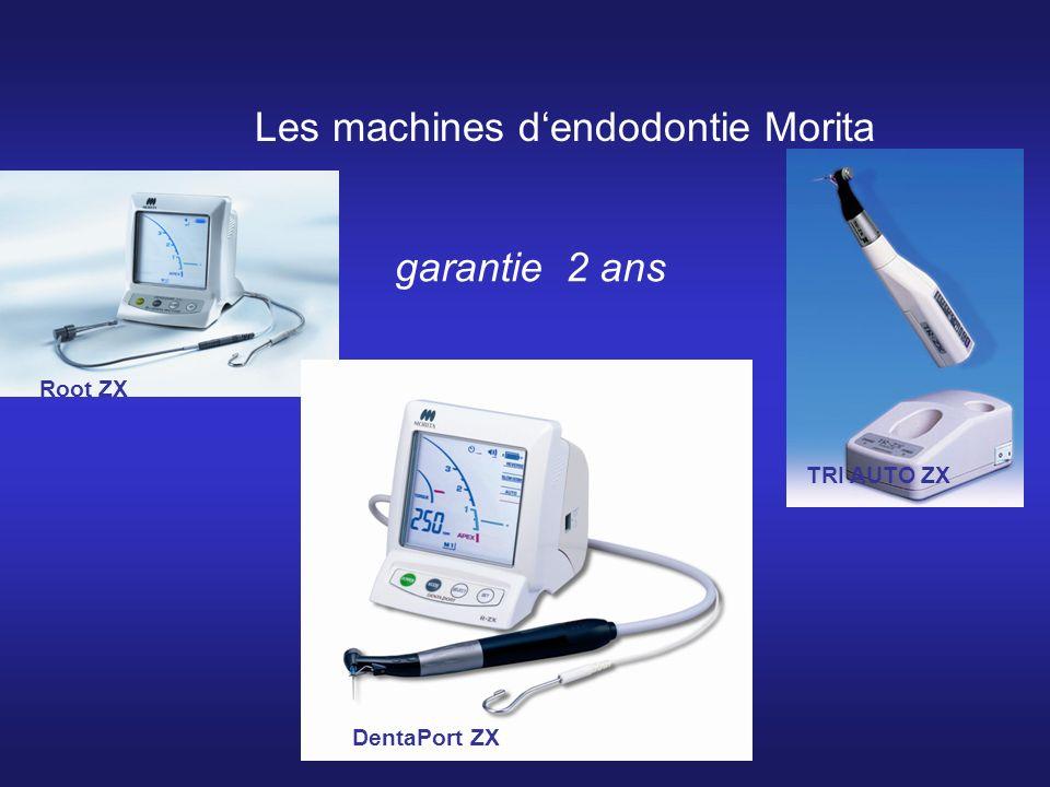 Les machines d'endodontie Morita