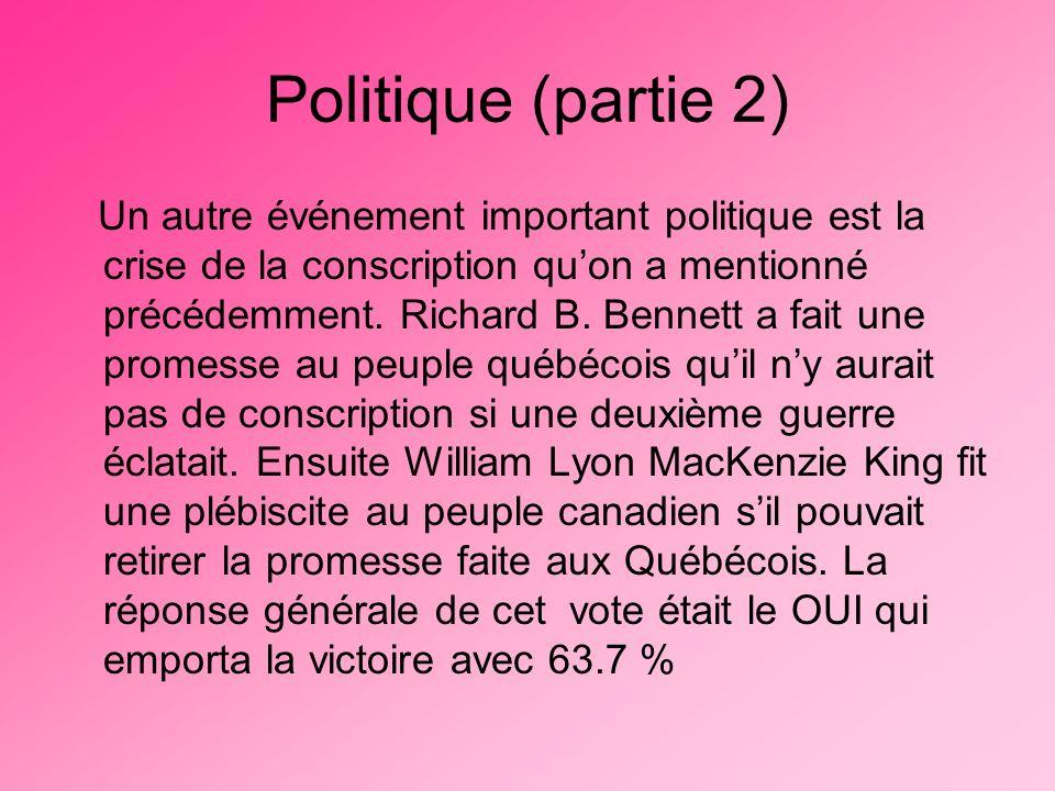 Politique (partie 2)