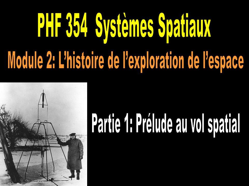 Module 2: L'histoire de l'exploration de l'espace