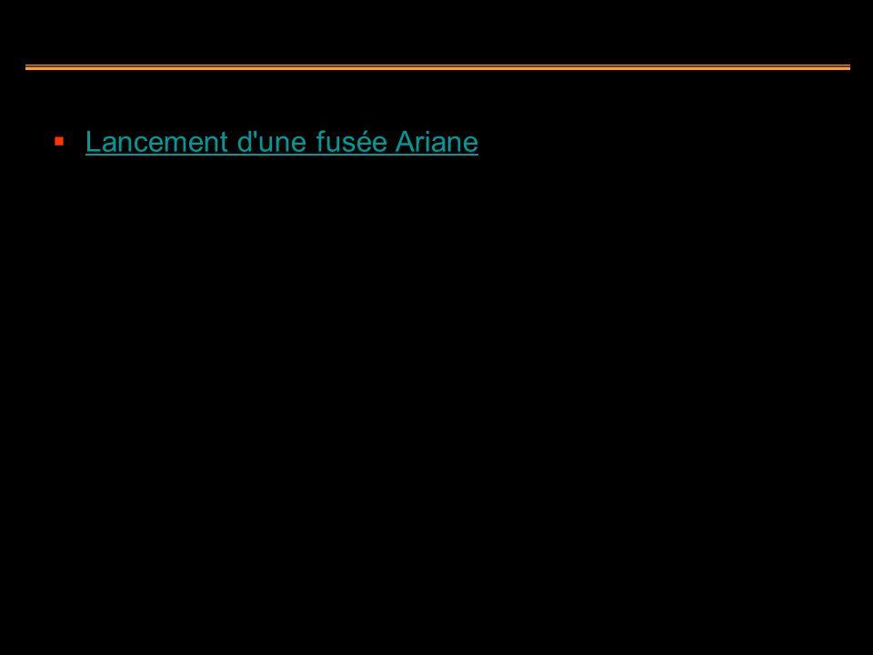 Lancement d une fusée Ariane
