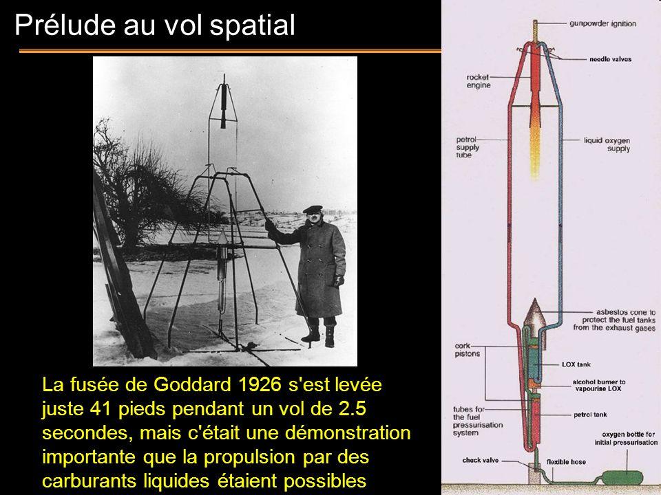Prélude au vol spatial