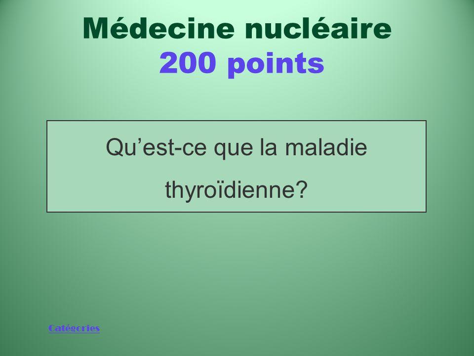 Médecine nucléaire 200 points