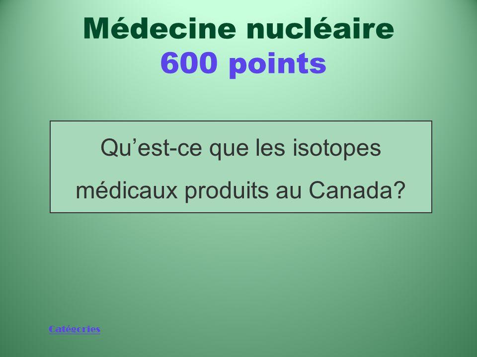 Médecine nucléaire 600 points