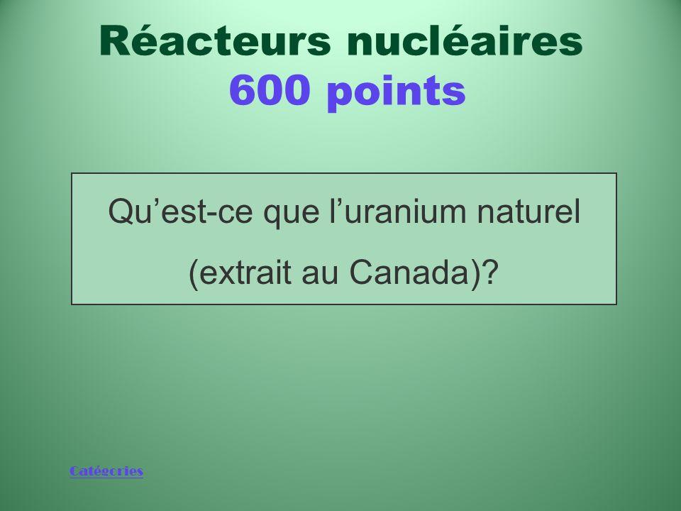 Réacteurs nucléaires 600 points