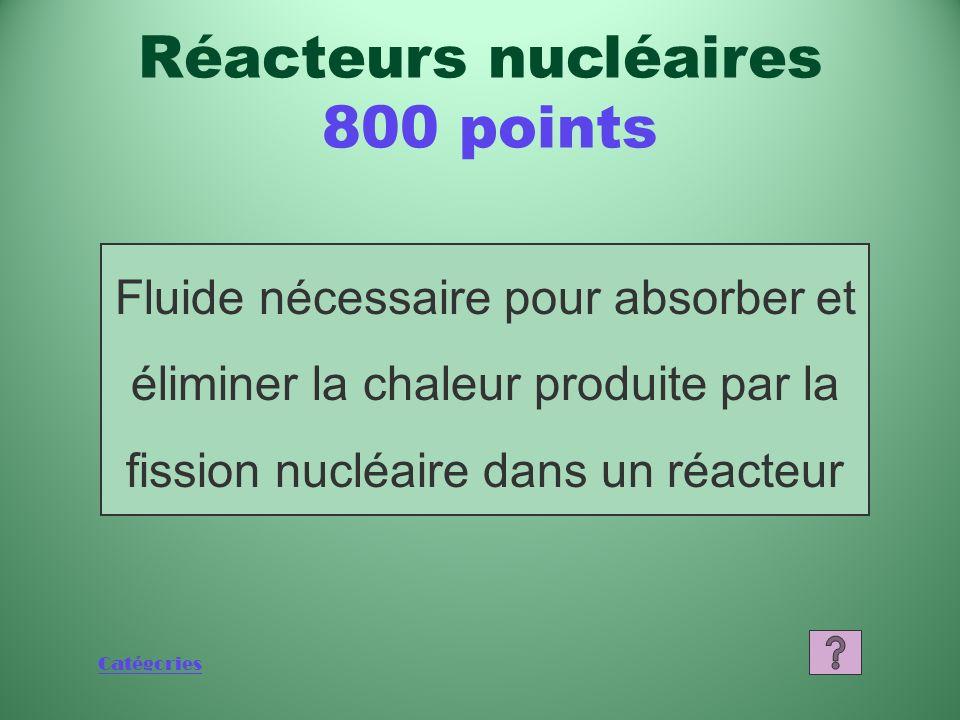 Réacteurs nucléaires 800 points