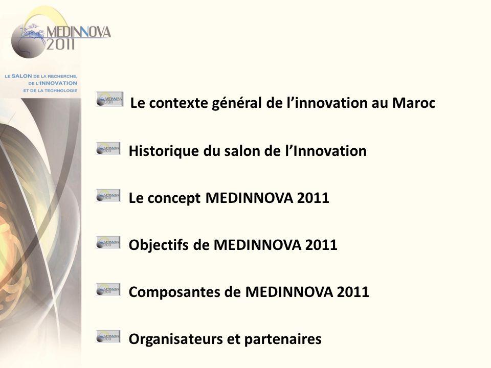 Le contexte général de l'innovation au Maroc