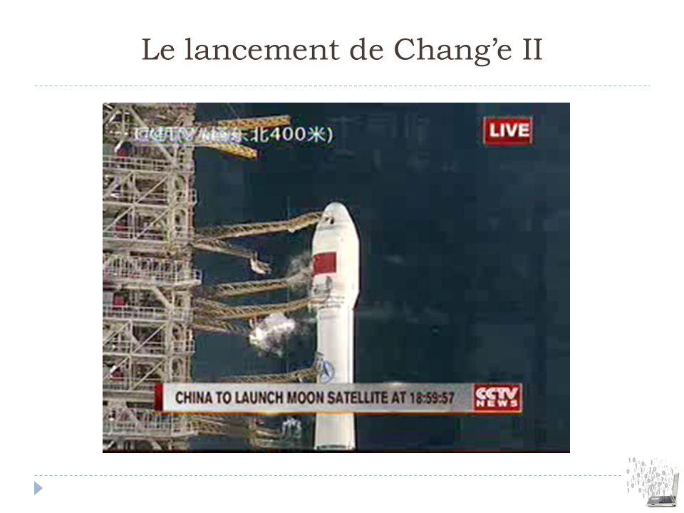 Le lancement de Chang'e II