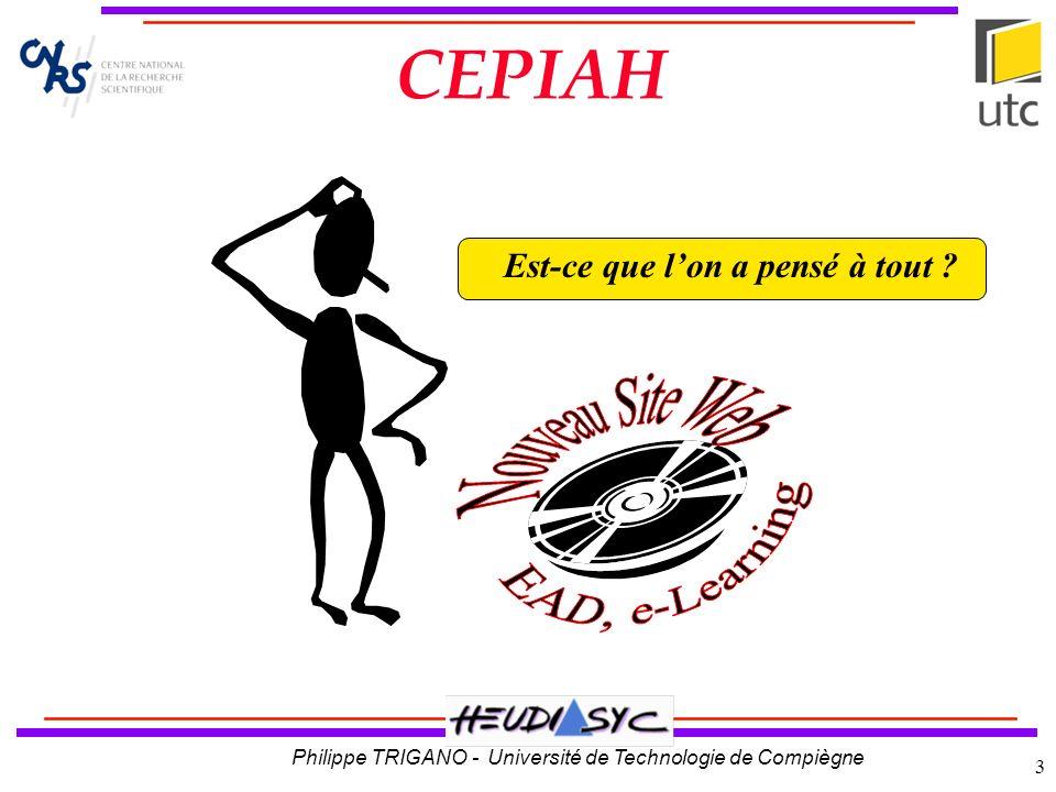 CEPIAH EAD, e-Learning Nouveau Site Web
